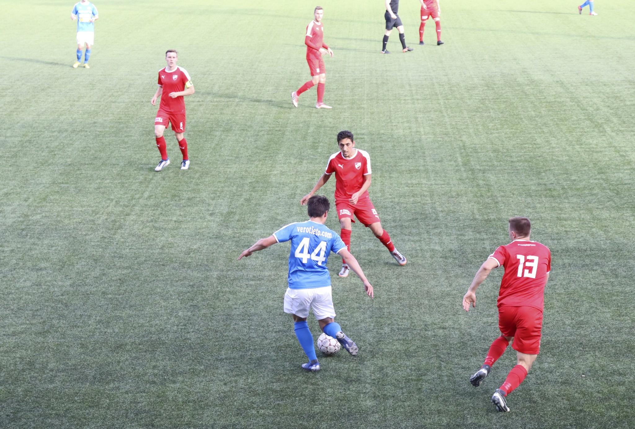 RoPS/2 joutui tyytymään tasapeliin FC Vaajakosken kanssa