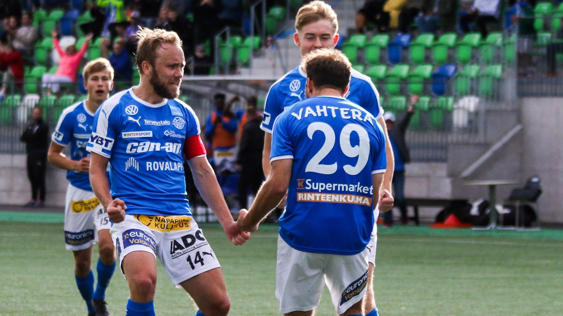 Kauden viimeinen taisto. RoPS kohtaa Veikkausliigan päätöskierroksella SJK:n.