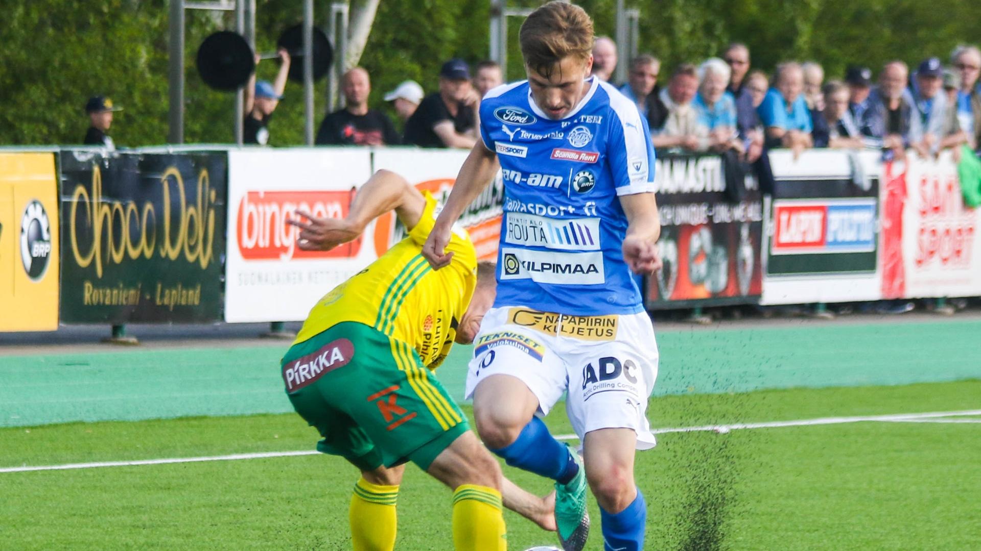 Lapin Arvokiinteistöt otteluennakko: Veikkausliigan kuumin joukkue Tampereen Ilves saapuu Napapiirille