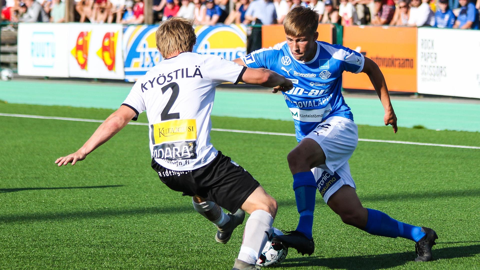 Pitkästä aikaa Tehtaan kentälle. RoPS kohtaa keskiviikkona FC Hakan.