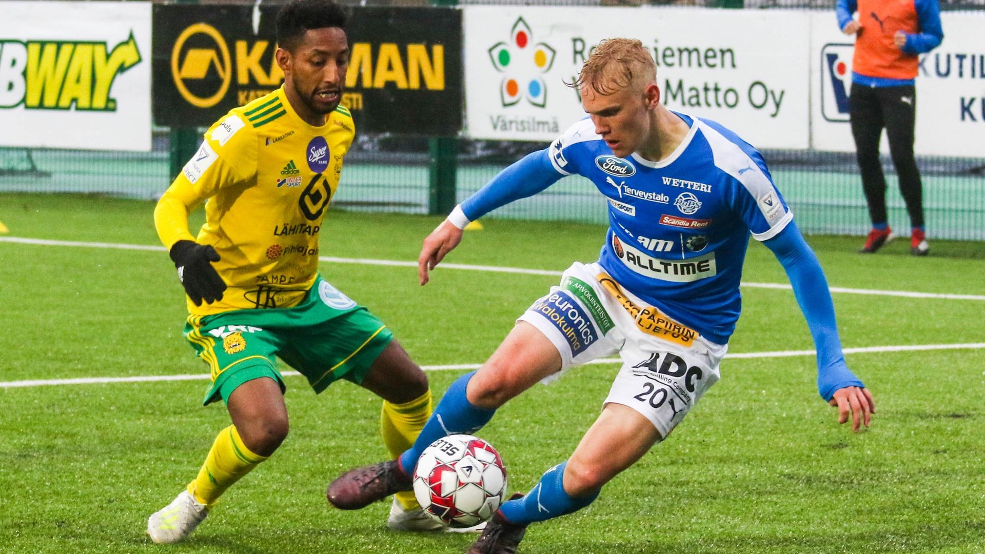 RoPS haastaa sarjajohtaja Tampereen Ilveksen