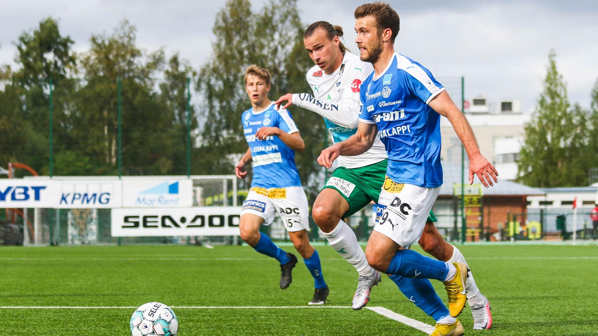Nyt katkeraa kalkkia syötti IFK Mariehamn. RoPS menetti tasapelinkin viimeisen sekunnin maalilla.