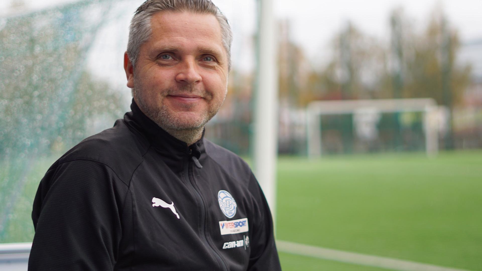 Mikko Mannila on Rovaniemen Palloseuran uusi päävalmentaja.