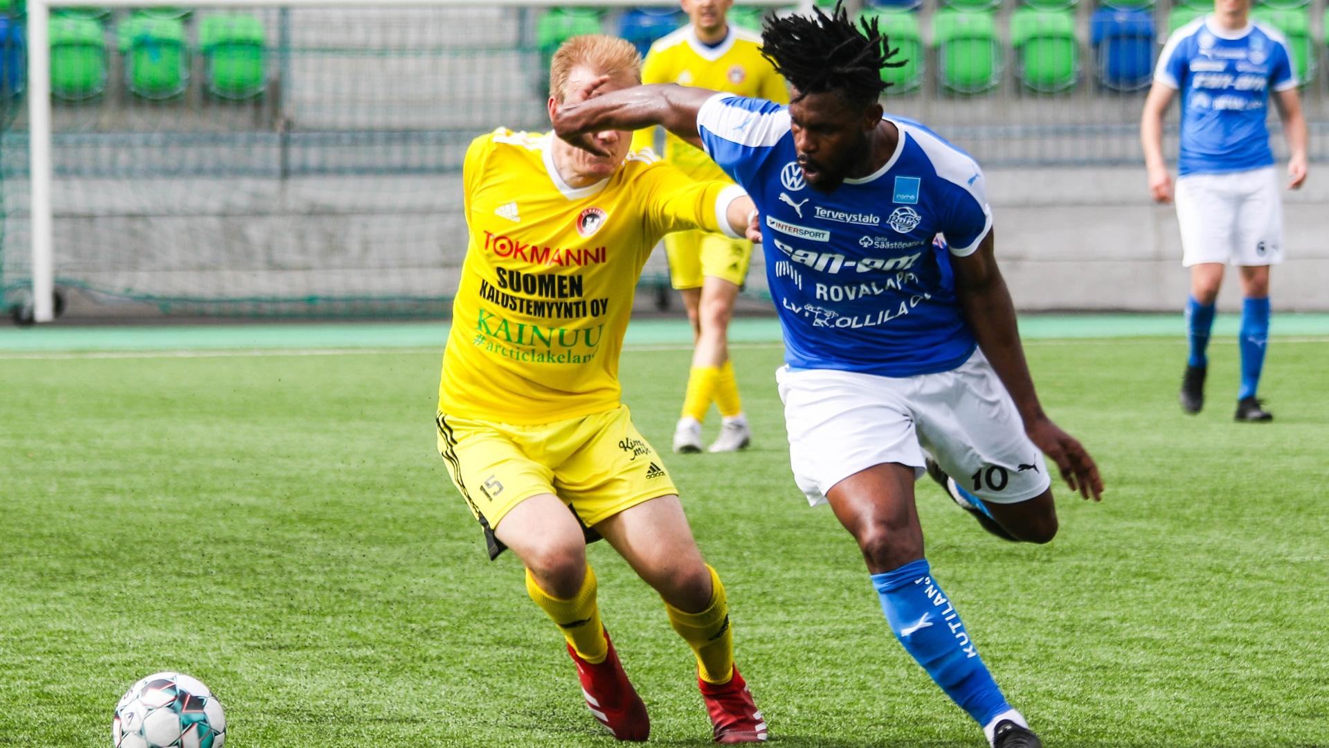 Wato Kuaté ei jatka Rovaniemen Palloseurassa