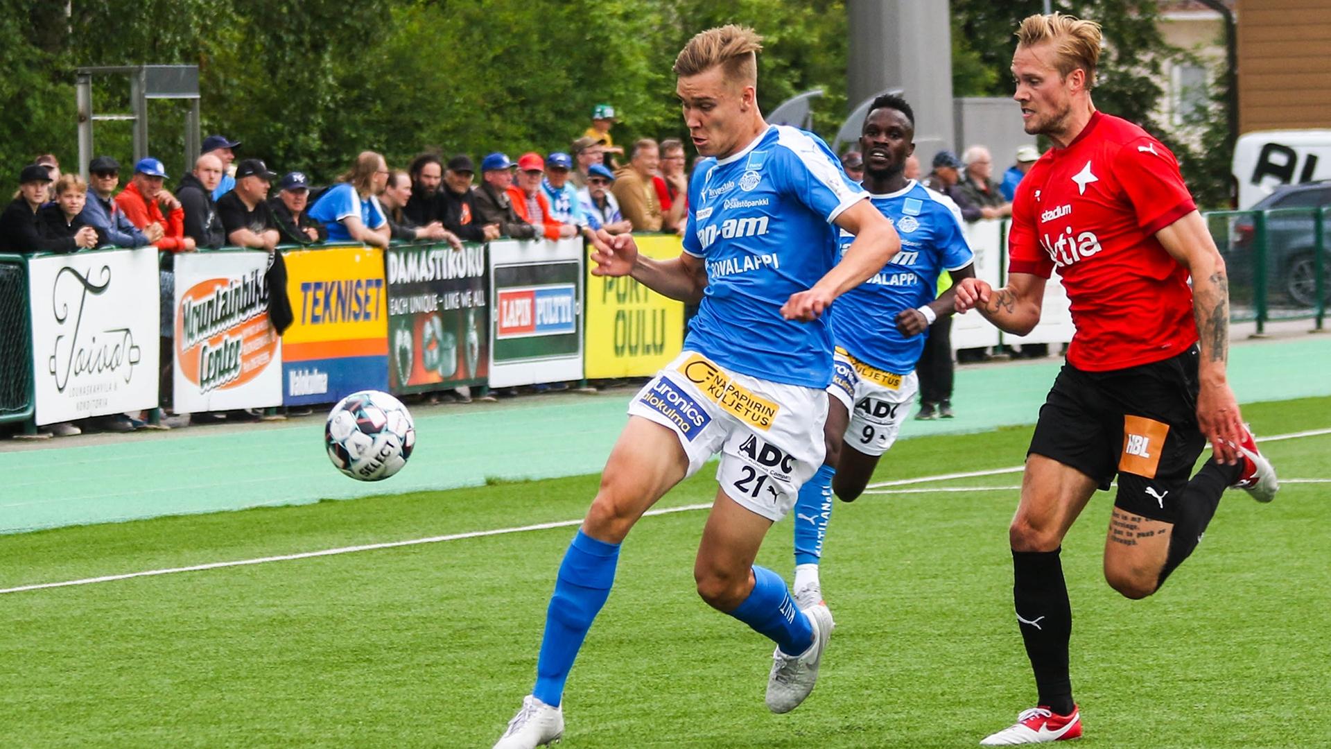 Kunnialla loppuun saakka. Rinta kaarella ja ylpeänä Helsingin IFK:n kimppuun.