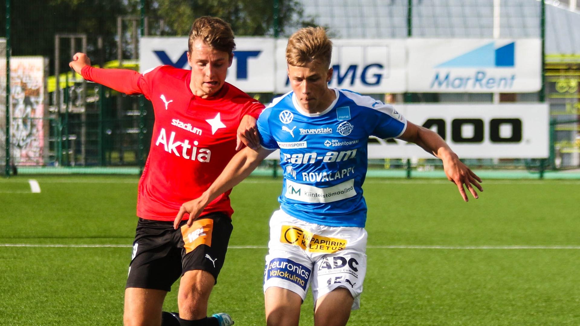 Taistelu ei riittänyt. HIFK otti pisteet Foday Mannehin maalilla.