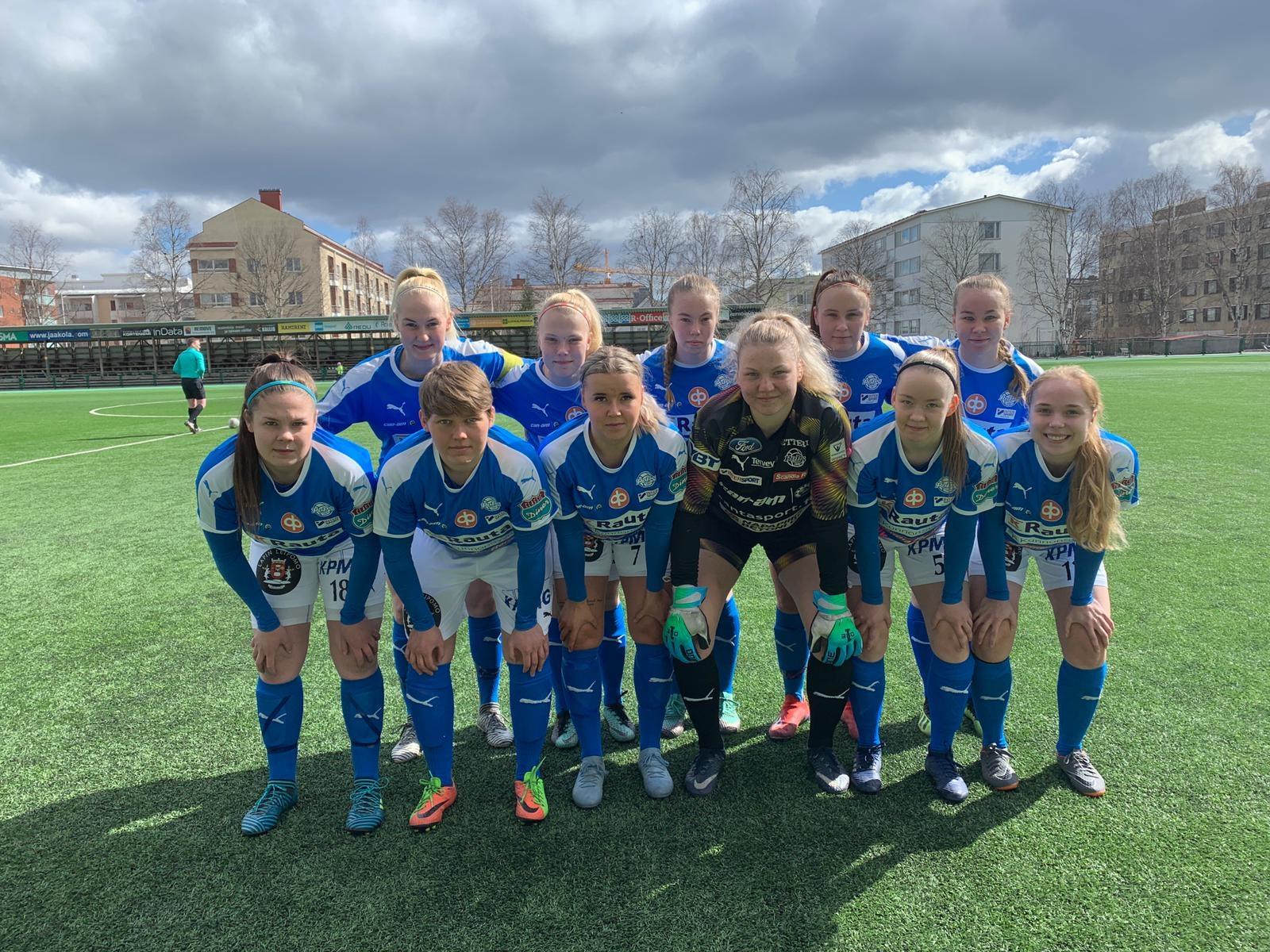 RoPS Naiset ja Ilves/2 pelasivat tasan - maalivahdit nousivat esiin