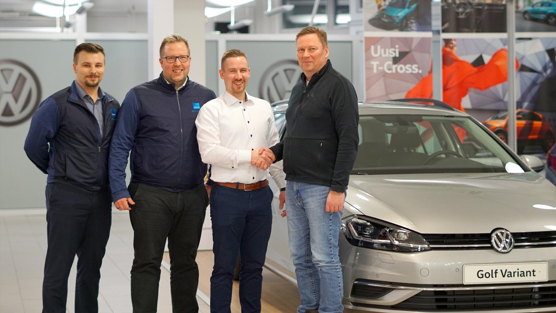 RoPS, Pörhö ja Volkswagen merkittävään yhteistyöhön